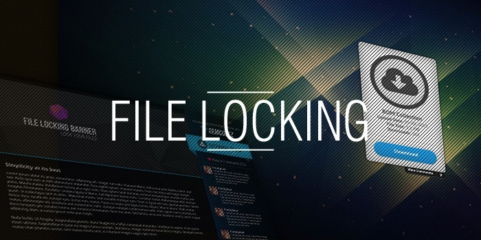 Image of a File Locker